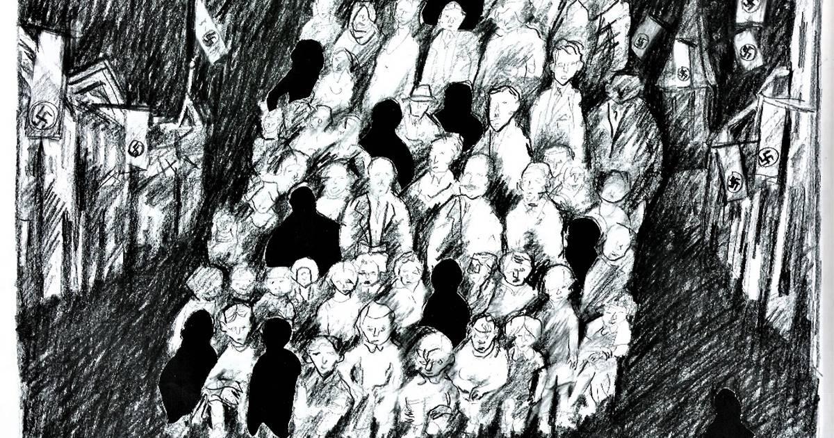 Zwei Bilder für Yad Vashem von Horst Meister