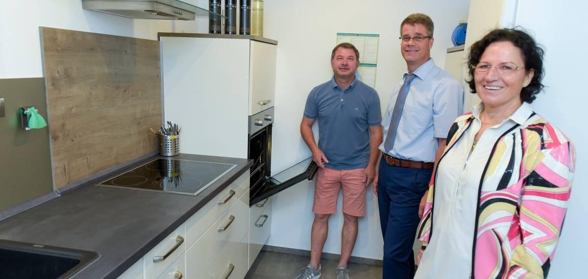 Kerkener Tennis Club: Neue Küche für das Vereinsheim