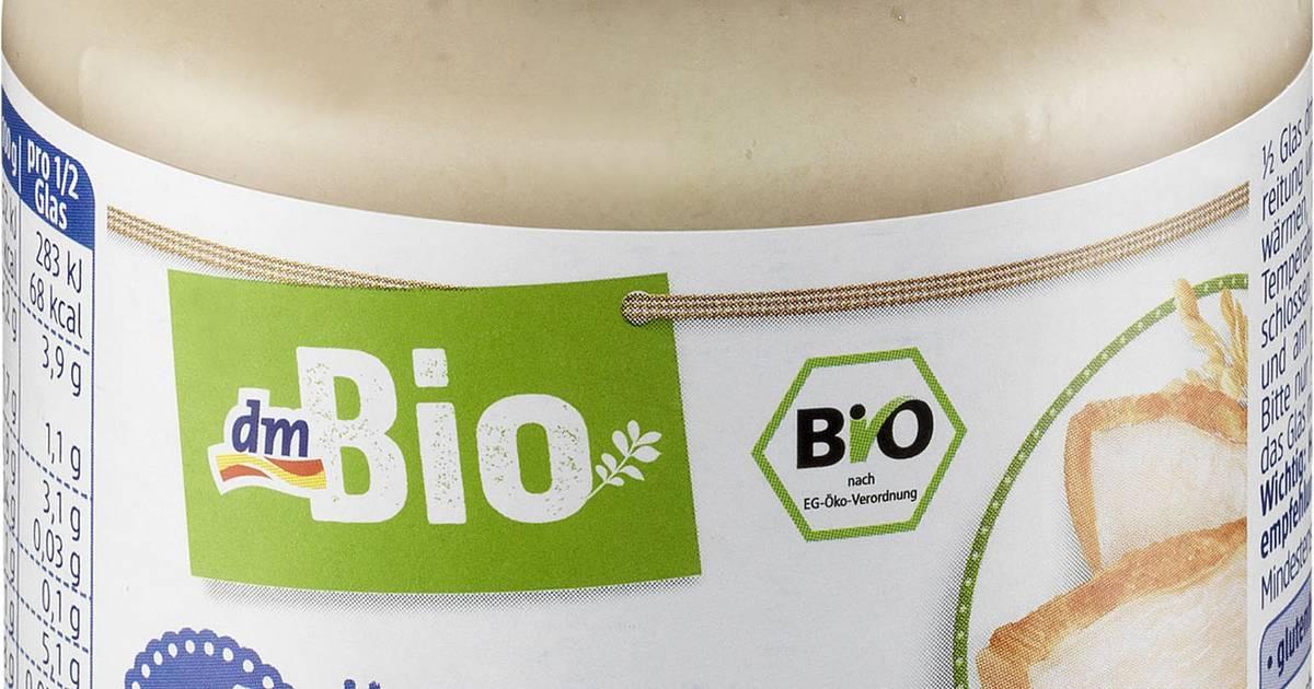 Drogeriekette dm ruft Bio-Babynahrung zurück