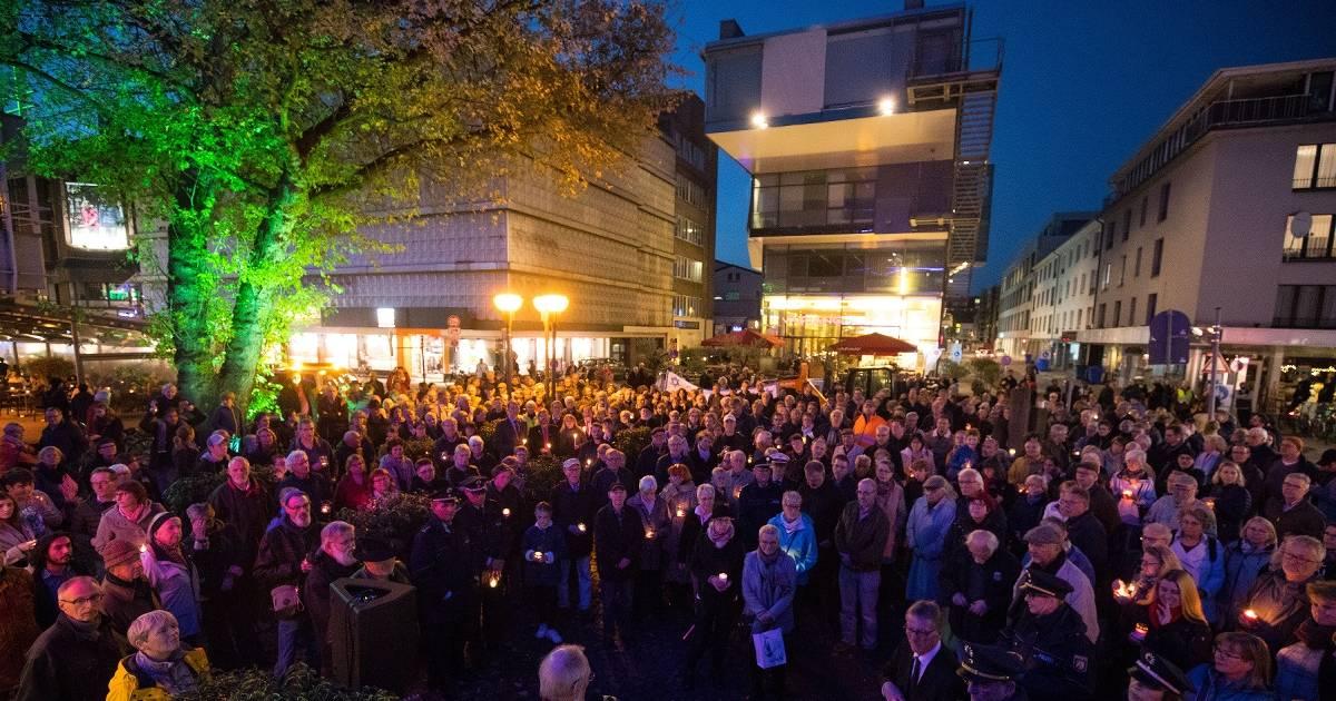 Starke Kundgebung gegen Judenhass in Krefeld
