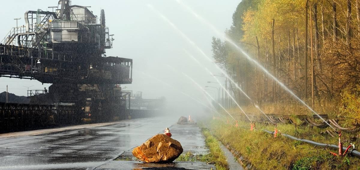 Bürger aus JHüchen-Hochneukirch leiden unter dem Schmutz aus dem Tagebau Garzweiler