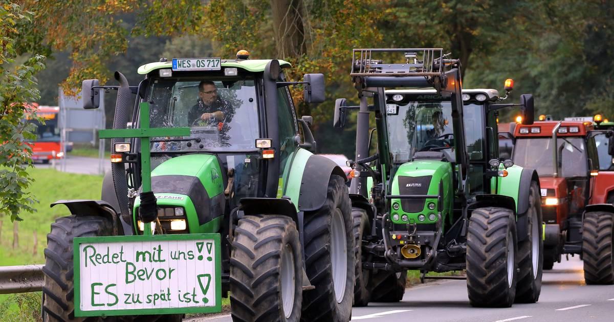 Niederrhein: Landwirte planen erneut Protestfahrt zum Kernwasserwunderland