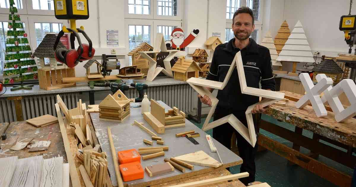 Willich: Auf dem Gelände des historischen Gefängnismuseums ist am 23. November der traditionelle Weihnachtsbasar.