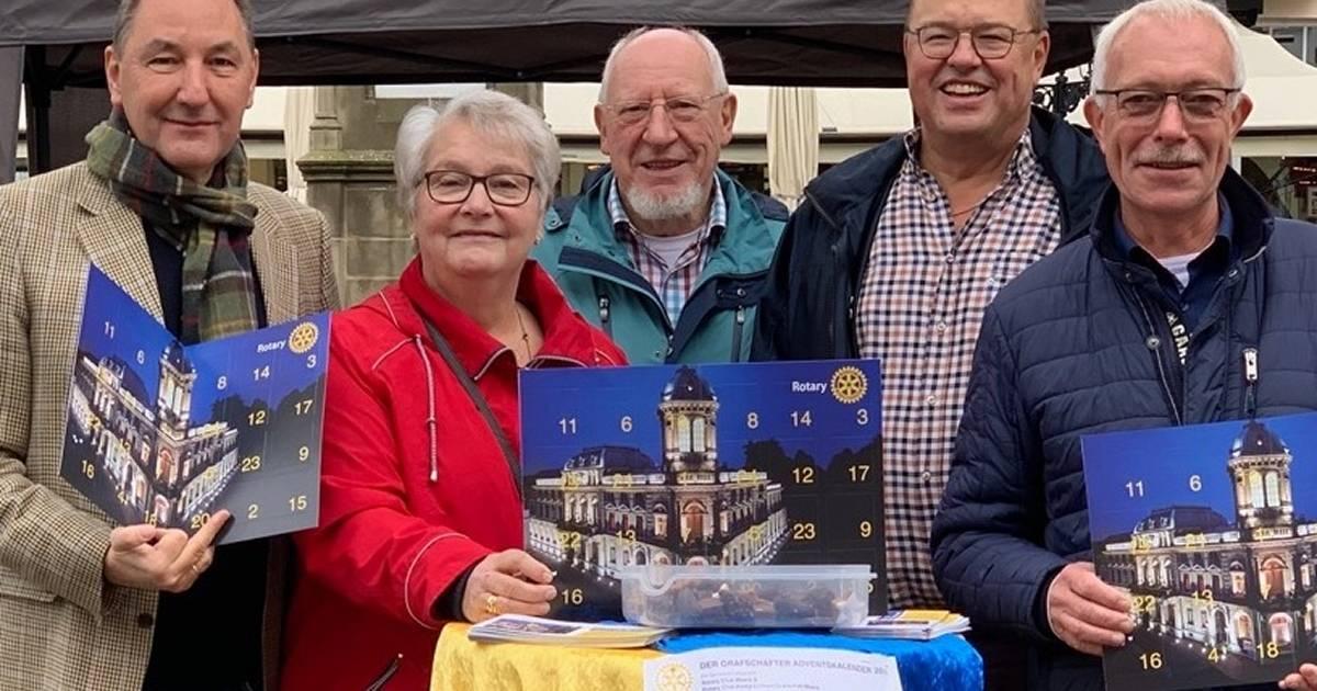 Rotary-Club verkauft wieder Adventskalender in Moers