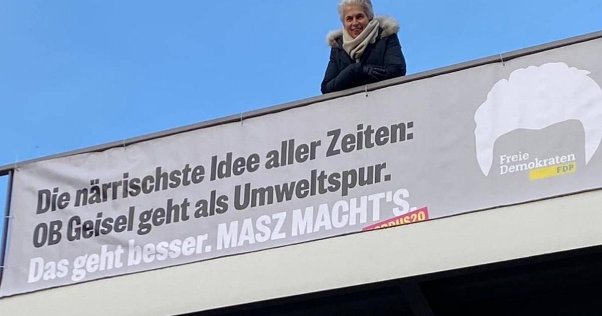 Düsseldorf: Strack-Zimmermann macht Wahlkampf an der Umweltspur