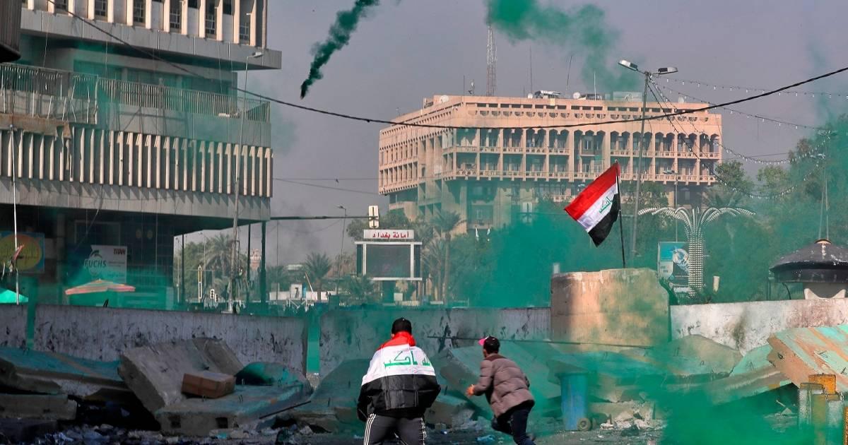 Die Proteste in Bagdad gegen die Regierung geraten außer Kontrolle