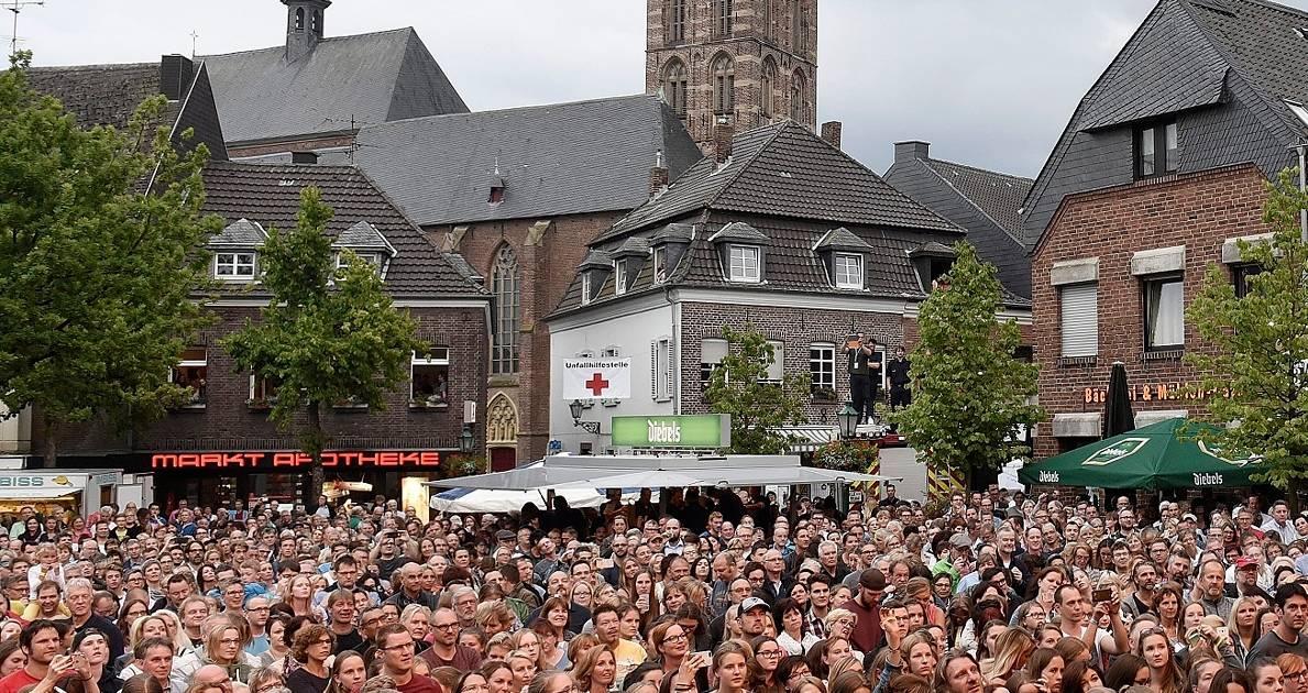 Das Stadtfest in Straelen soll im Jahr 2020 wieder stattfinden.