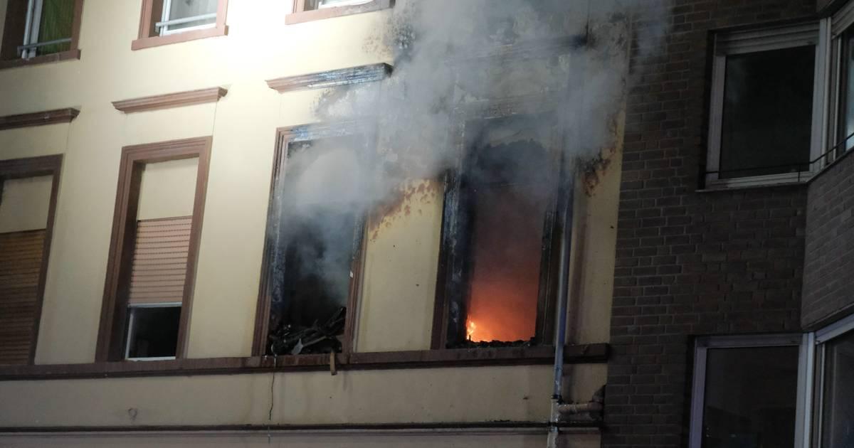 Brand in Krefeld: 38-Jähriger stirbt nach Feuer in Hubertusstraße an seinen Brandverletzungen