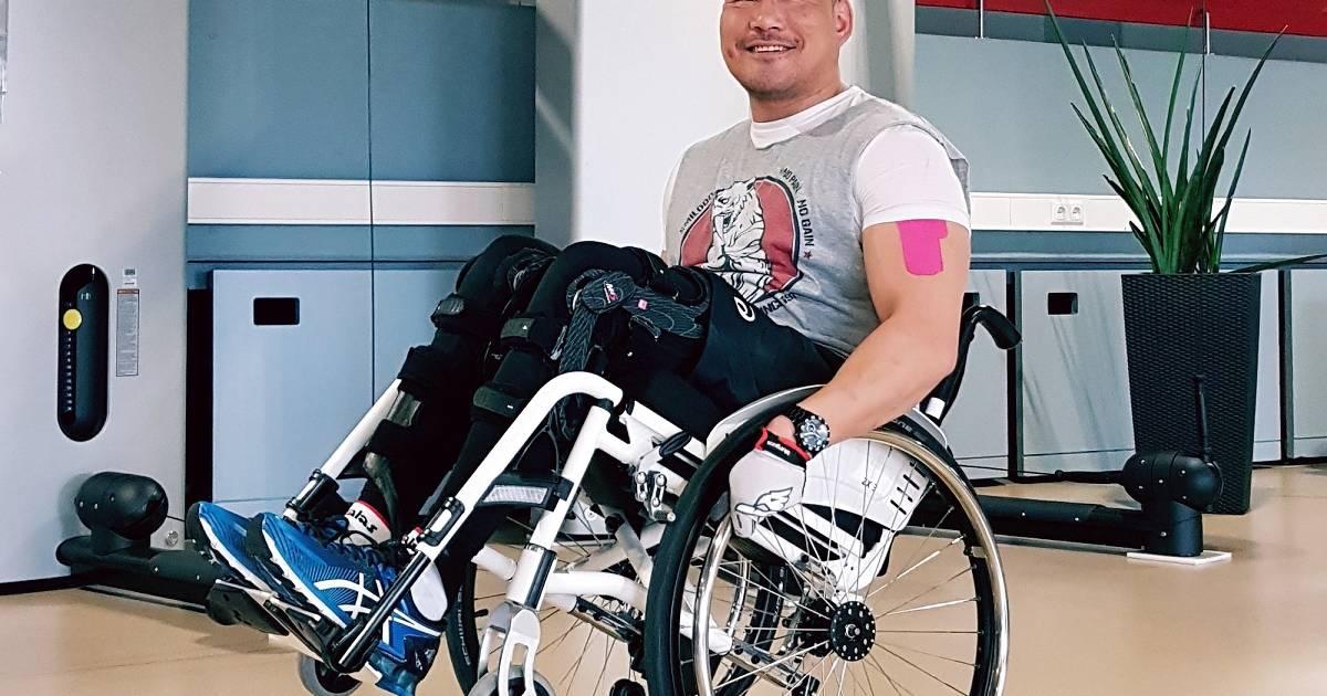 Ratingen : Radspezialist will wieder laufen können