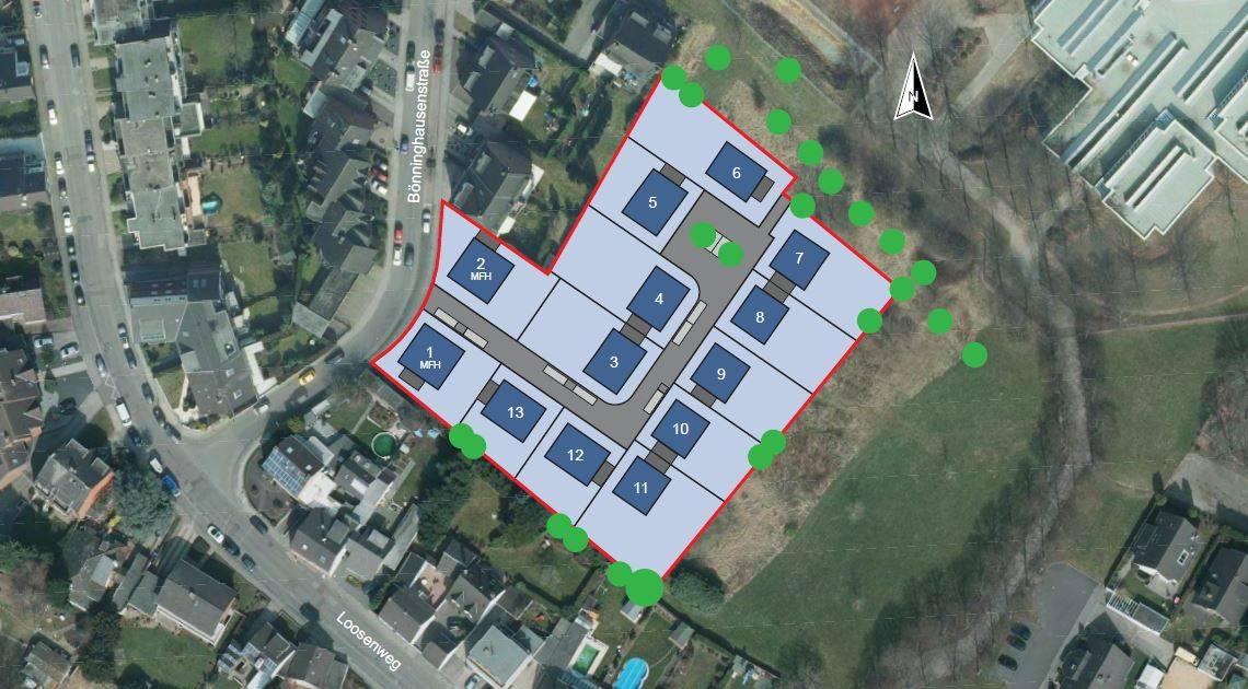 Mönchengladbach: EWMG vermarktet Baugrundstücke für Einfamilienhäuser in Neuwerk