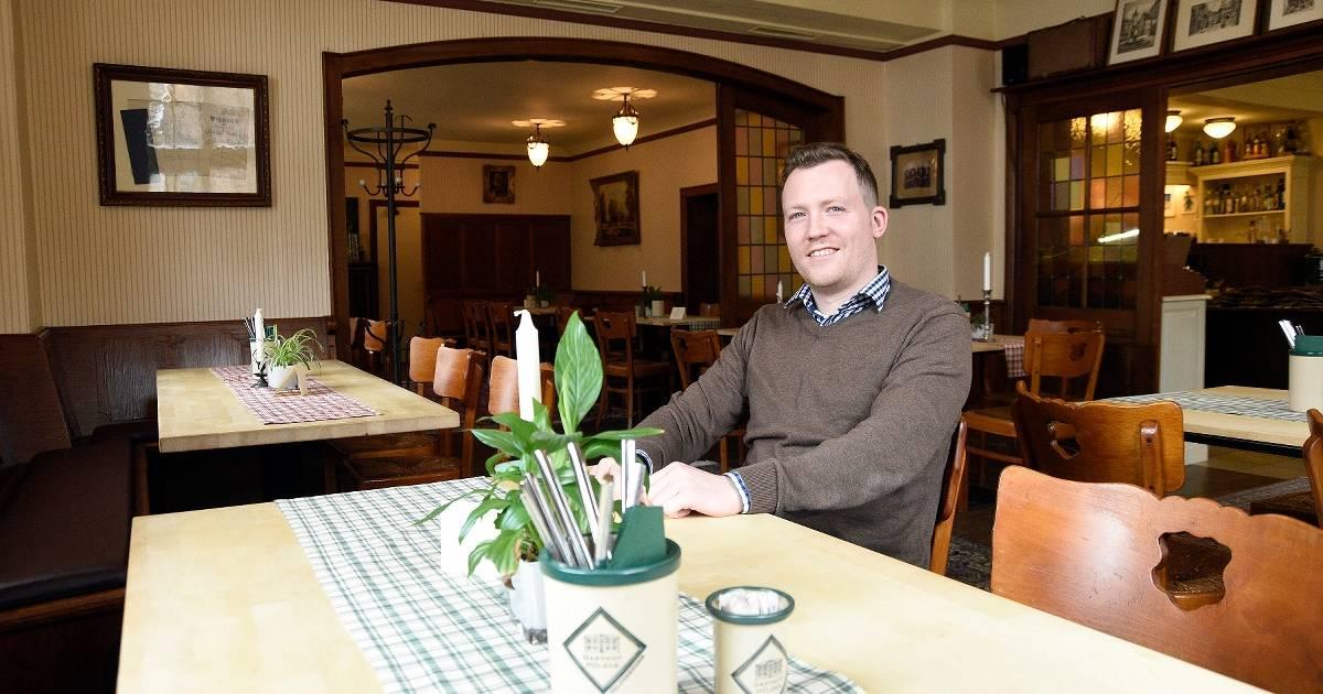 Nach Weihnachten verlässt Betreiber Sebastian Appenzeller den Gasthof Hülser in Viersen