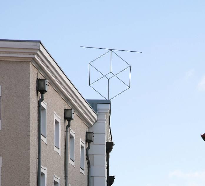 Kleve: Kunstwerk von Günther Zins für Passau