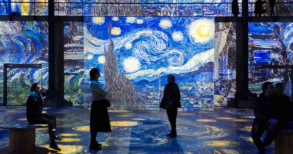 Ausflug nach Paris: Ateliers des Lumieres zeigt Bilder von Vincent van Gogh