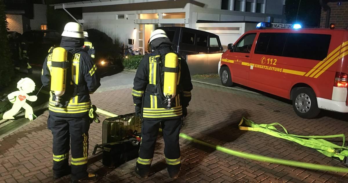 Kellerbrand sorgt für Einsatz der Haaner Feuerwehr