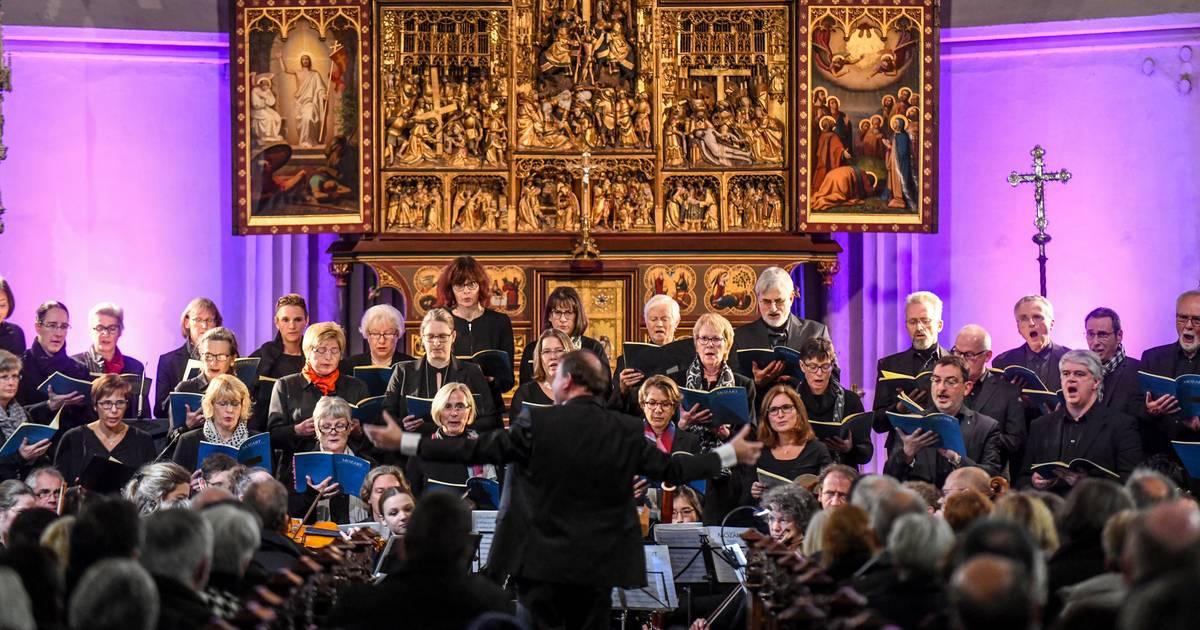 """Aufführung von Mozarts """"Requiem"""" in Straelen."""