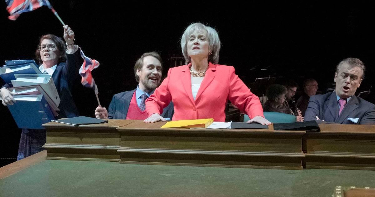 """Theater Krefeld zeigt die Revue """"Let's Stop Brexit"""" von Ulrich Proschka"""