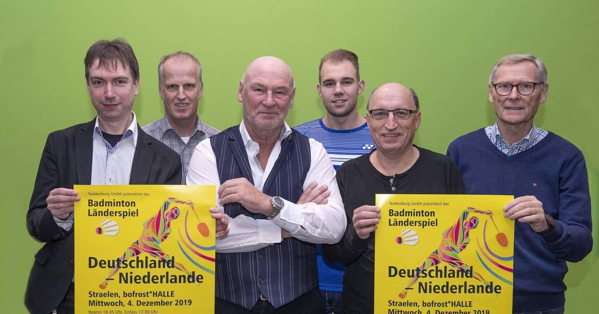 Badminton: Länderspiel gastiert in Straelen