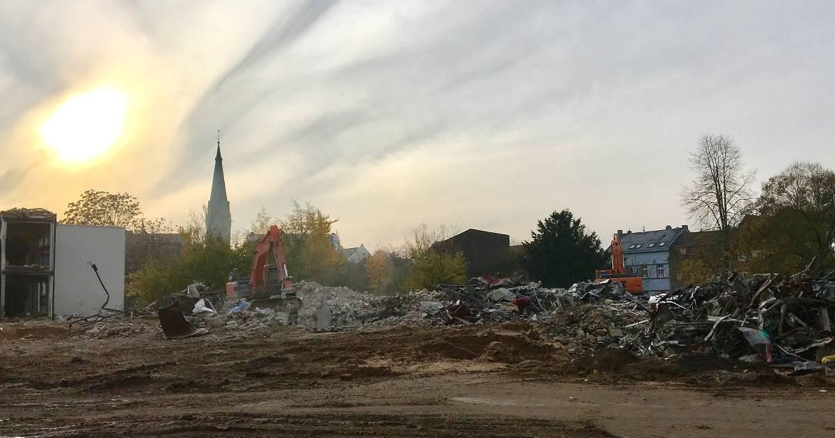 Katharinen-Hospital in Willch: Abriss ist fast fertig
