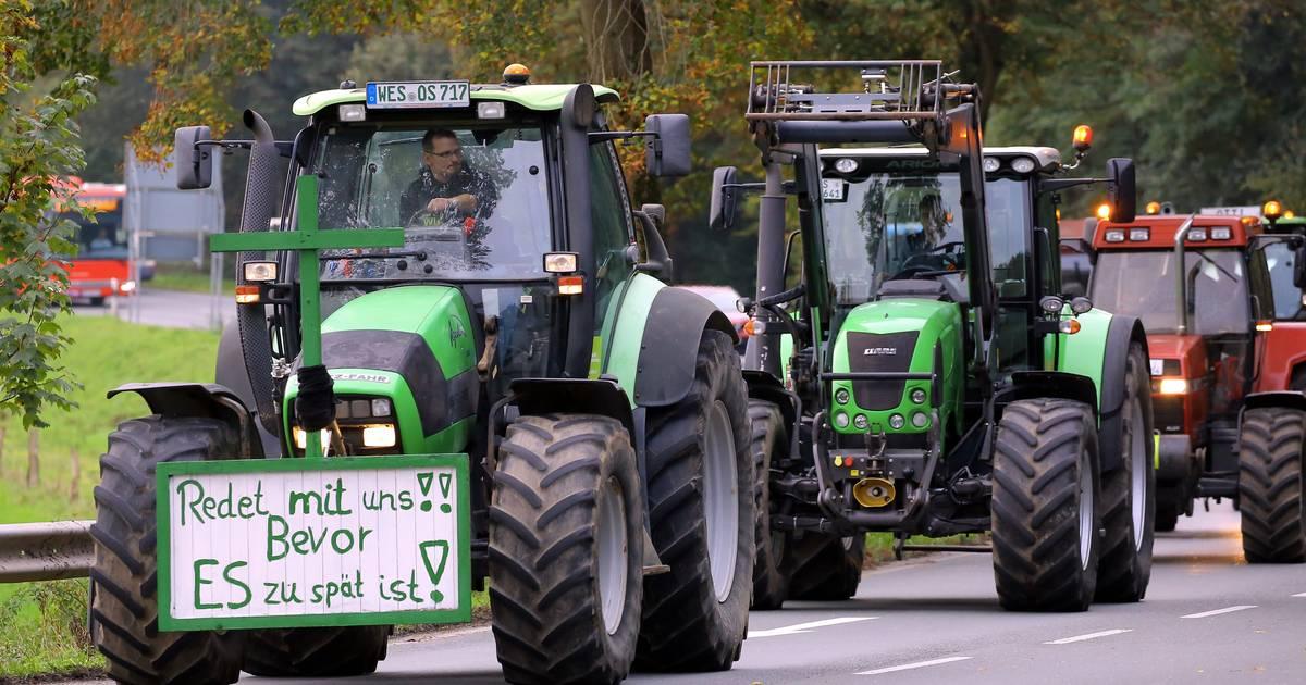 Bauern-Demo in NRW - Stau in Düsseldorf, Neuss und Kreis Mettmann