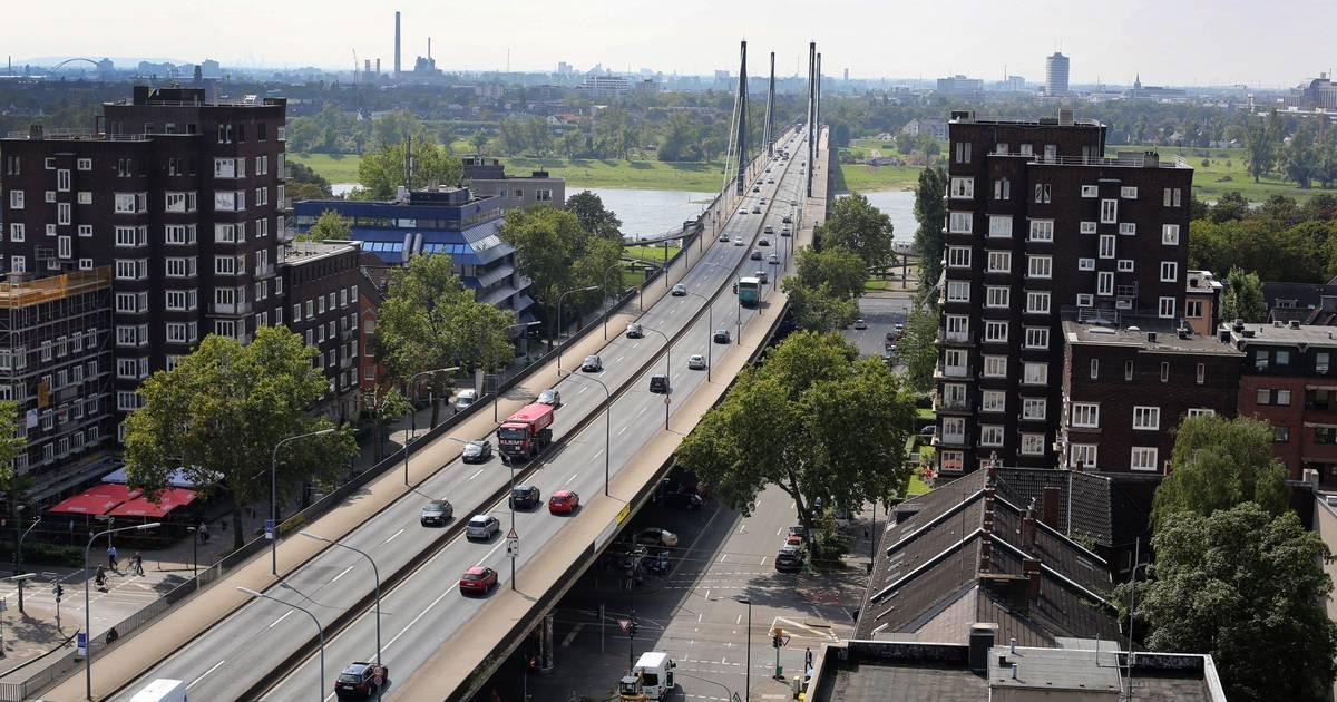 Düsseldorf: Theodor-Heuss-Brücke ab sofort für schwere Lkw gesperrt