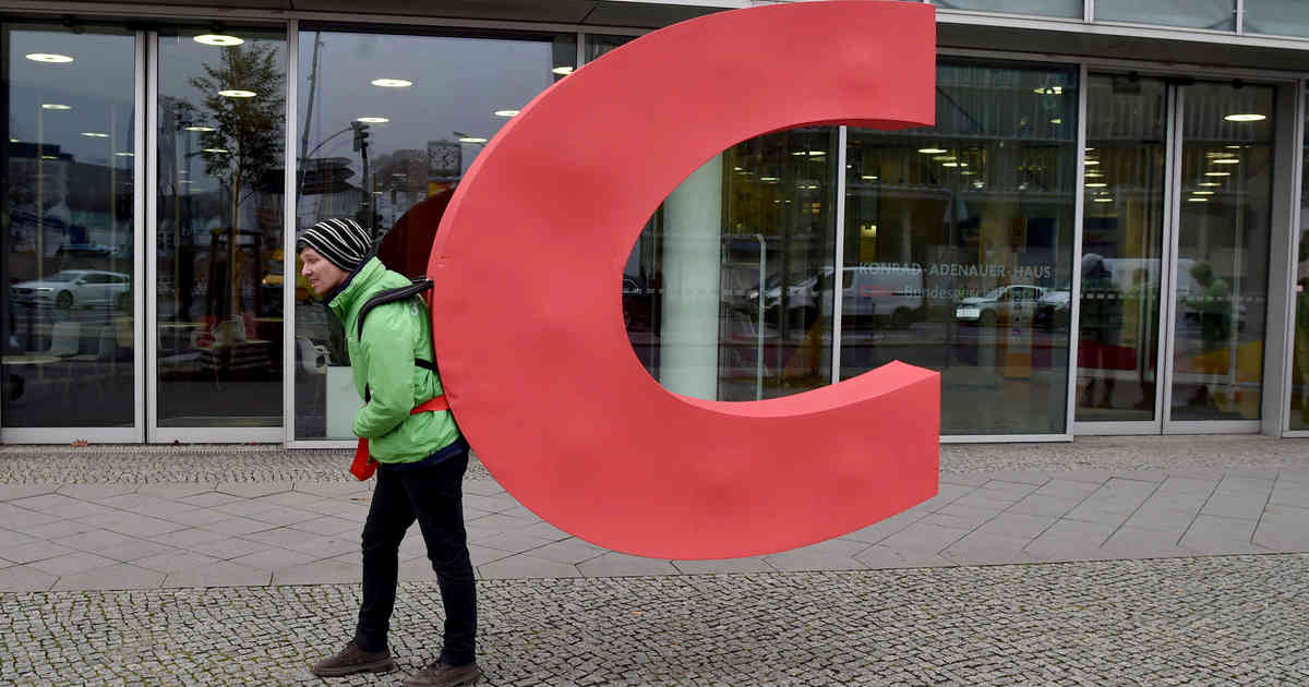 CDU reagiert mit Humor auf C-Diebstahl von Greenpeace