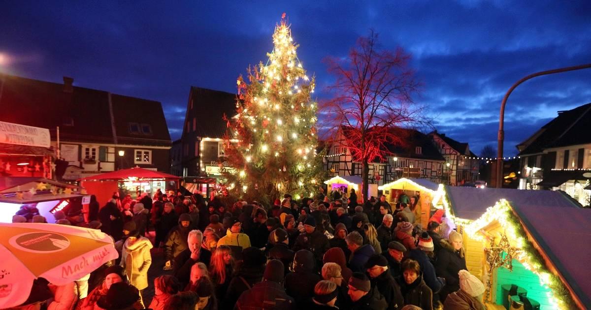 Weihnachtsmarkt in Leichlingen