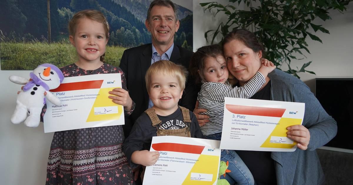 Hückeswagen: 1200 Euro für die Kindergärten der Schloss-Stadt