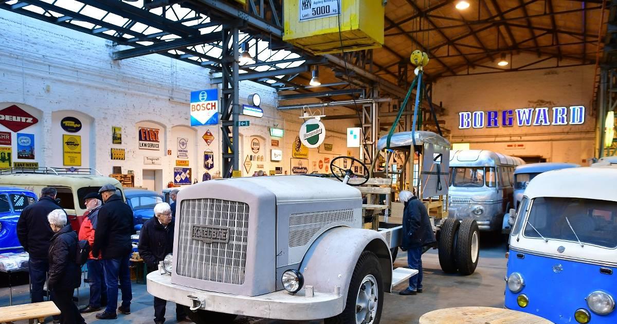 Willich: Nutzfahrzeug-Museum präsentiert Lkw von Kaelble