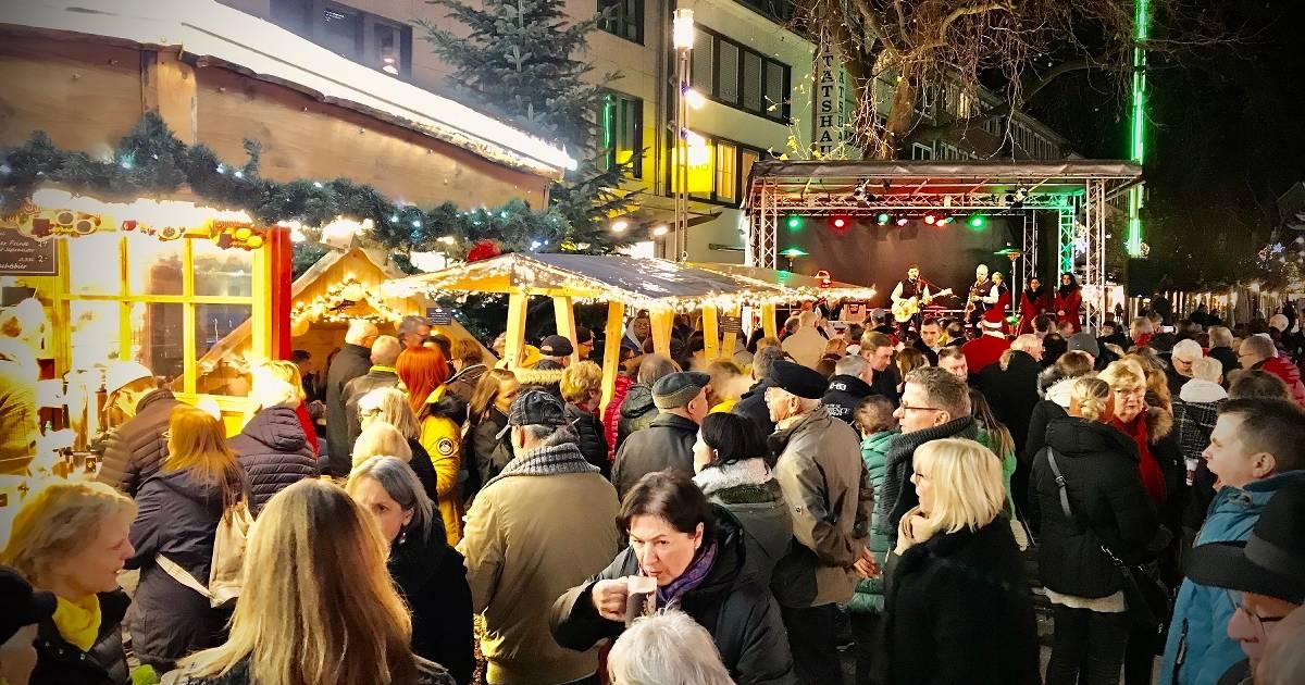 Weihnachtsgebimmel in Viersen begeistert Besucher