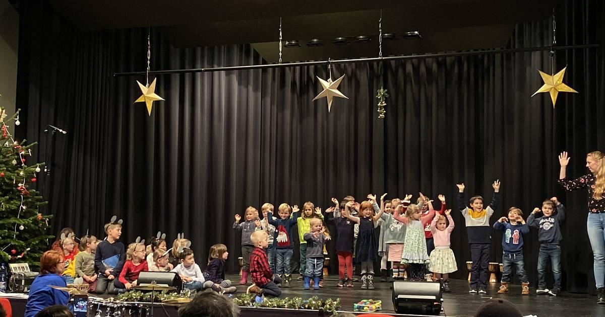 Musikalische Nachwuchstalente auf der Bühne