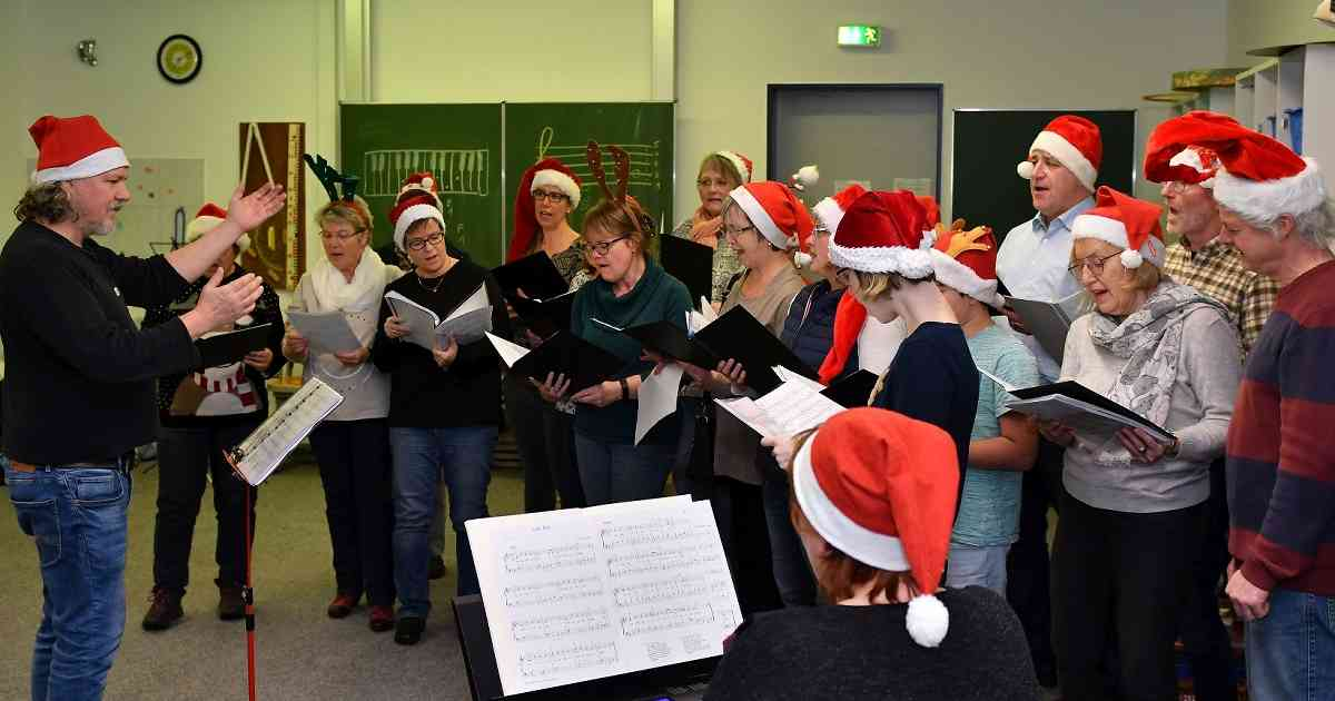 Radevormwald: Chor probt wieder für Weihnachten