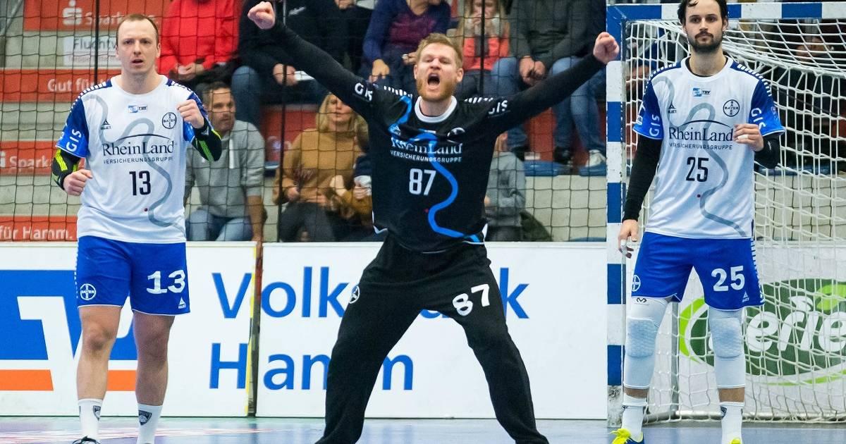 2. Handball-Bundesliga TSV Bayer Dormagen gegen TuSEM Essen