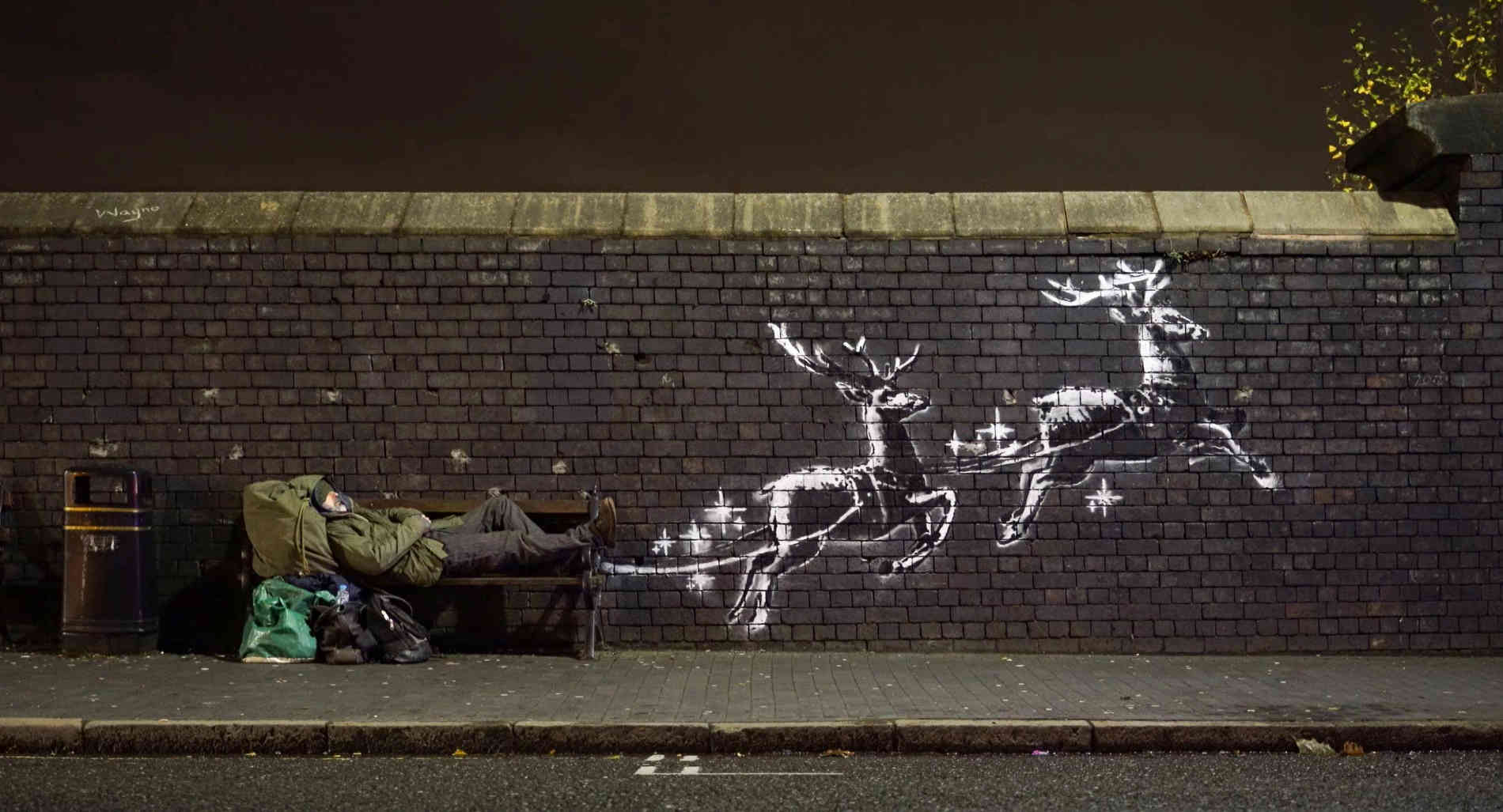 Banksy Neues Bild