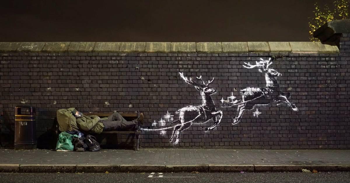 Neues Banksy-Bild in Birmingham: Das steckt dahinter