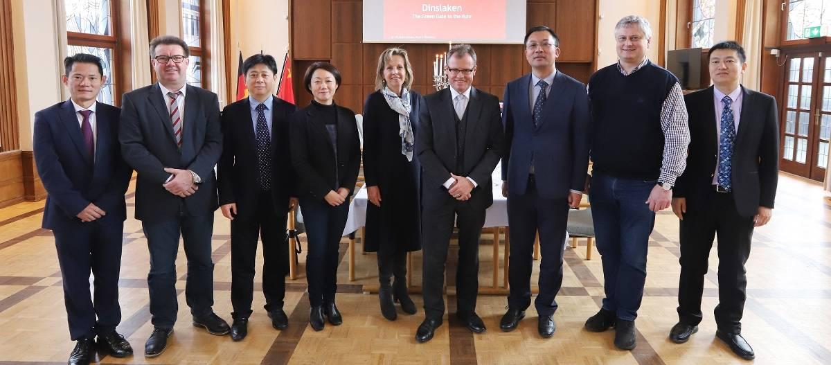 Dinslaken führt Gespräche mit Delegation aus China über Energieversorgung