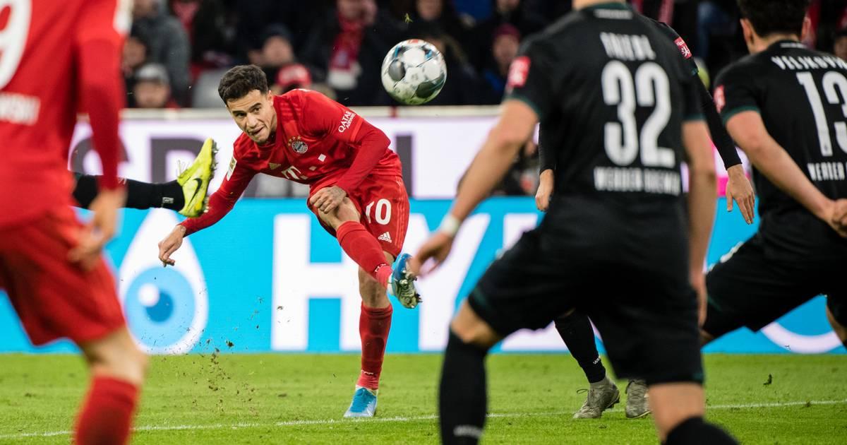 FC Bayern dreht Spiel gegen Werder Bremen - Coutinho überragt