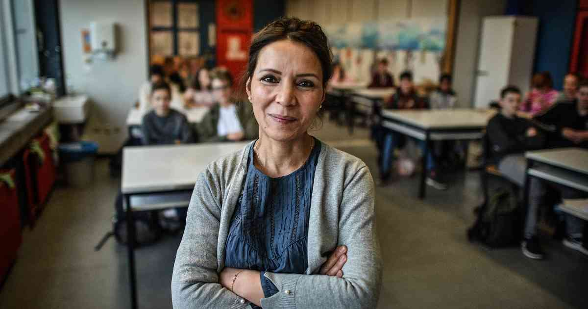 Kleve: Kunstlehrerin Zena Saleh floh vor 18 Jahren mit der Familie aus Bagdad