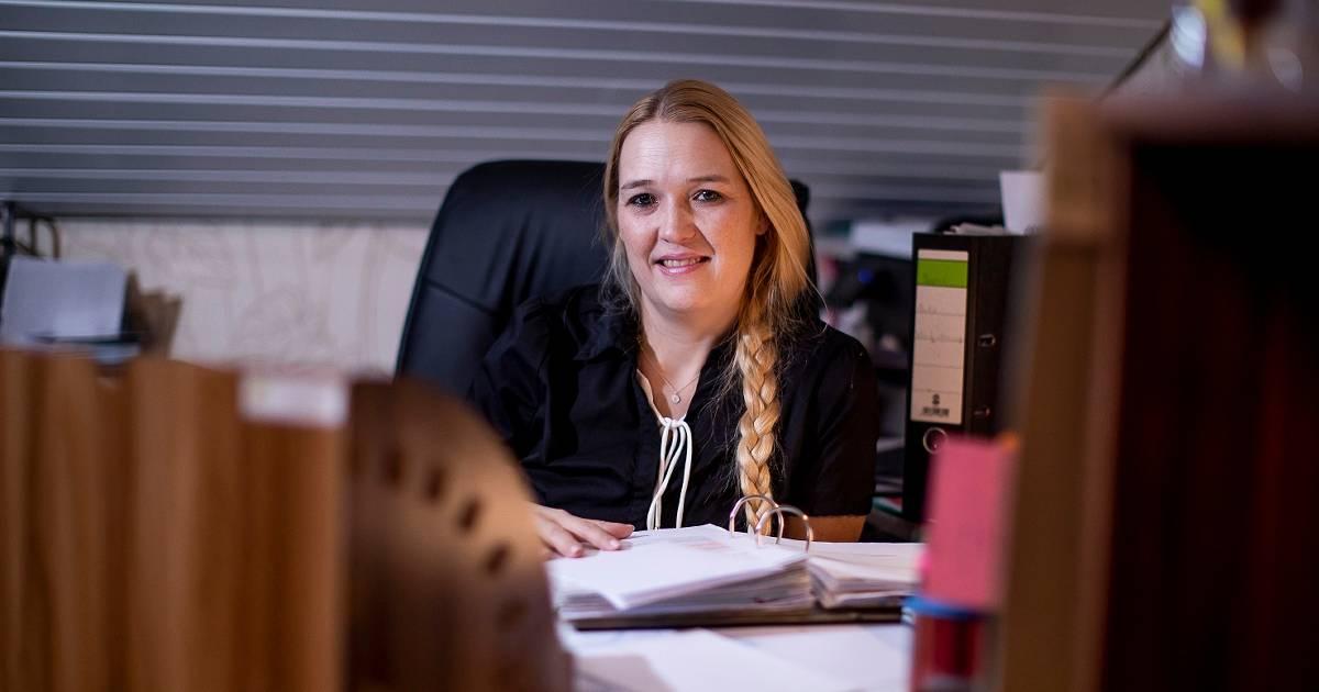 Ilona Appel aus Nierst sorgt für Ordnung