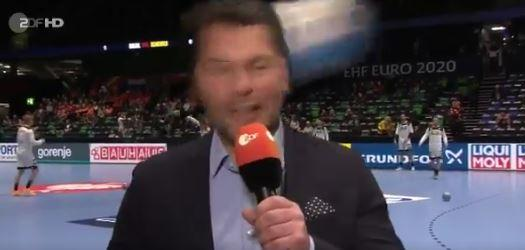 Handball Em 2020 Zdf Moderator Yorck Polus Bekommt Ball An