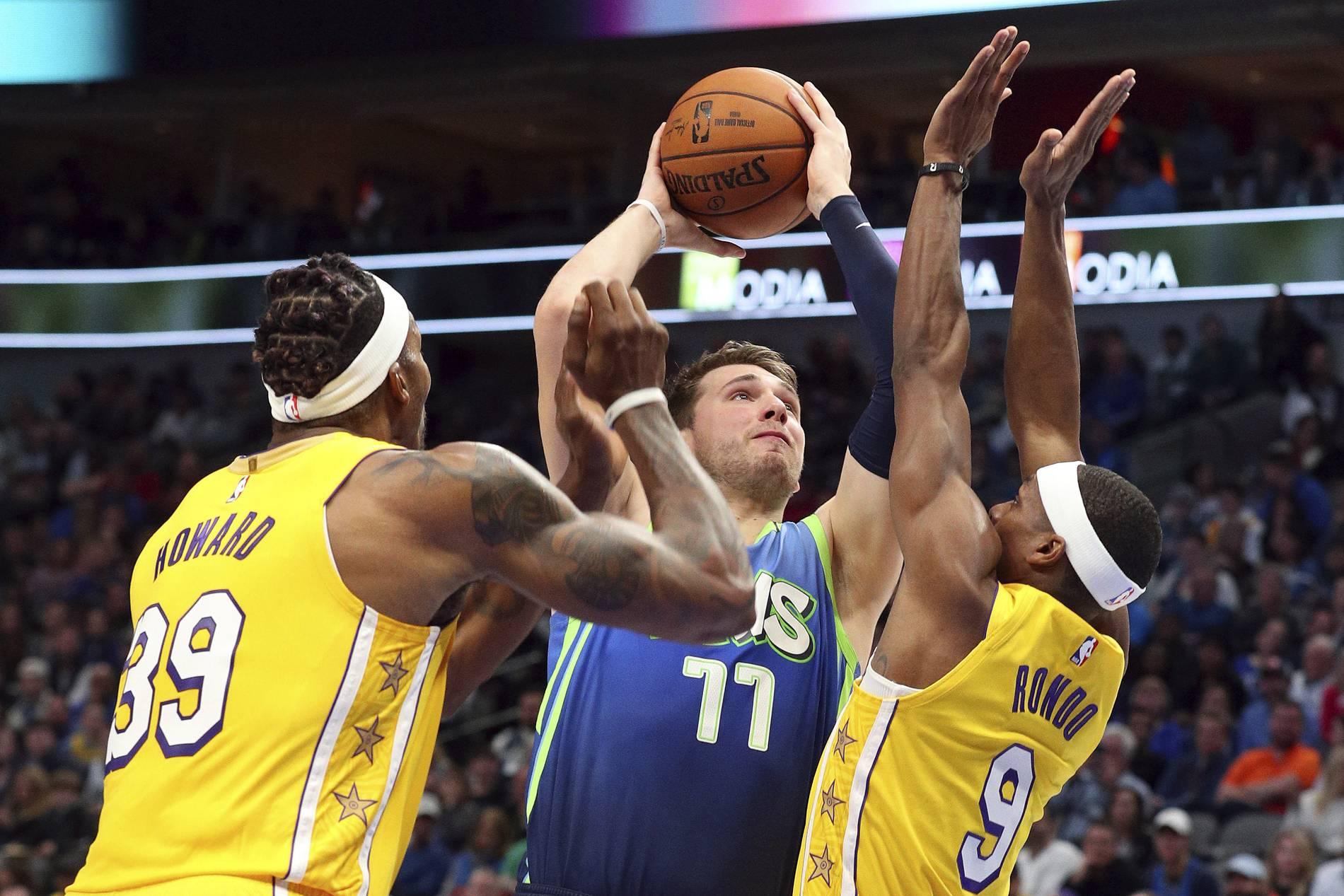 Mavericks Gegen Lakers