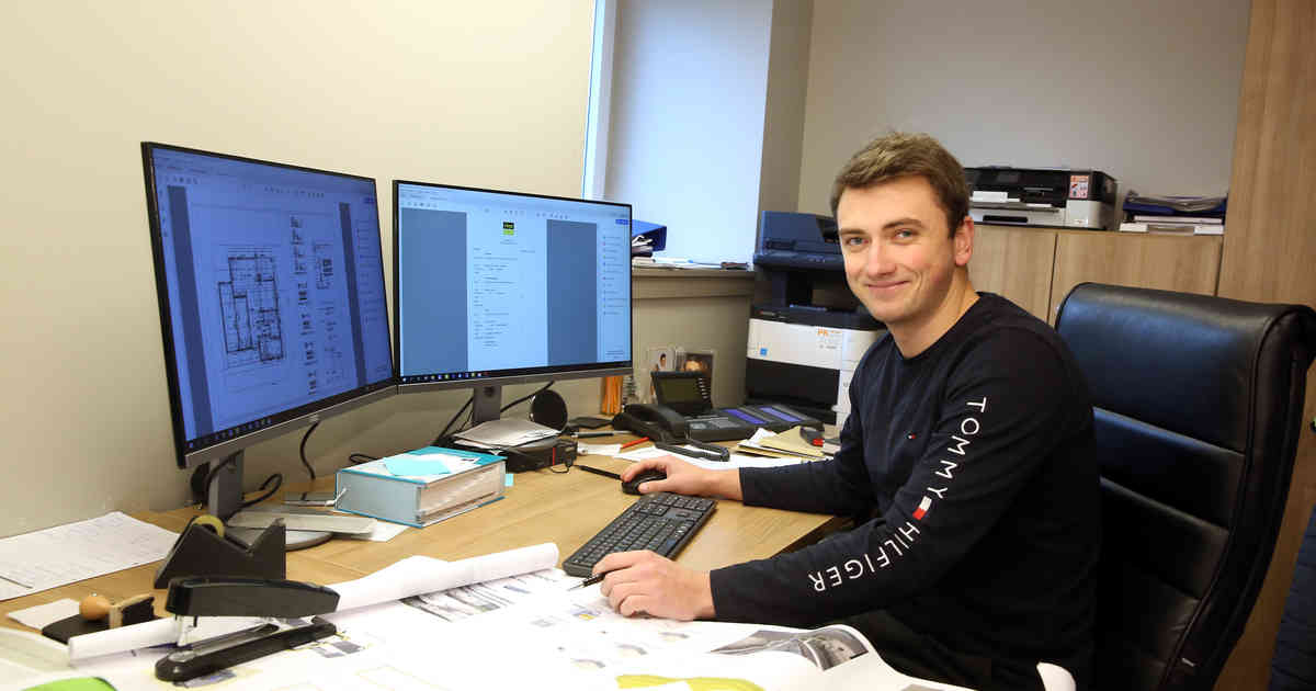 Mönchengladbach: Niklas Roßbach studiert trial Handwerksmanagement