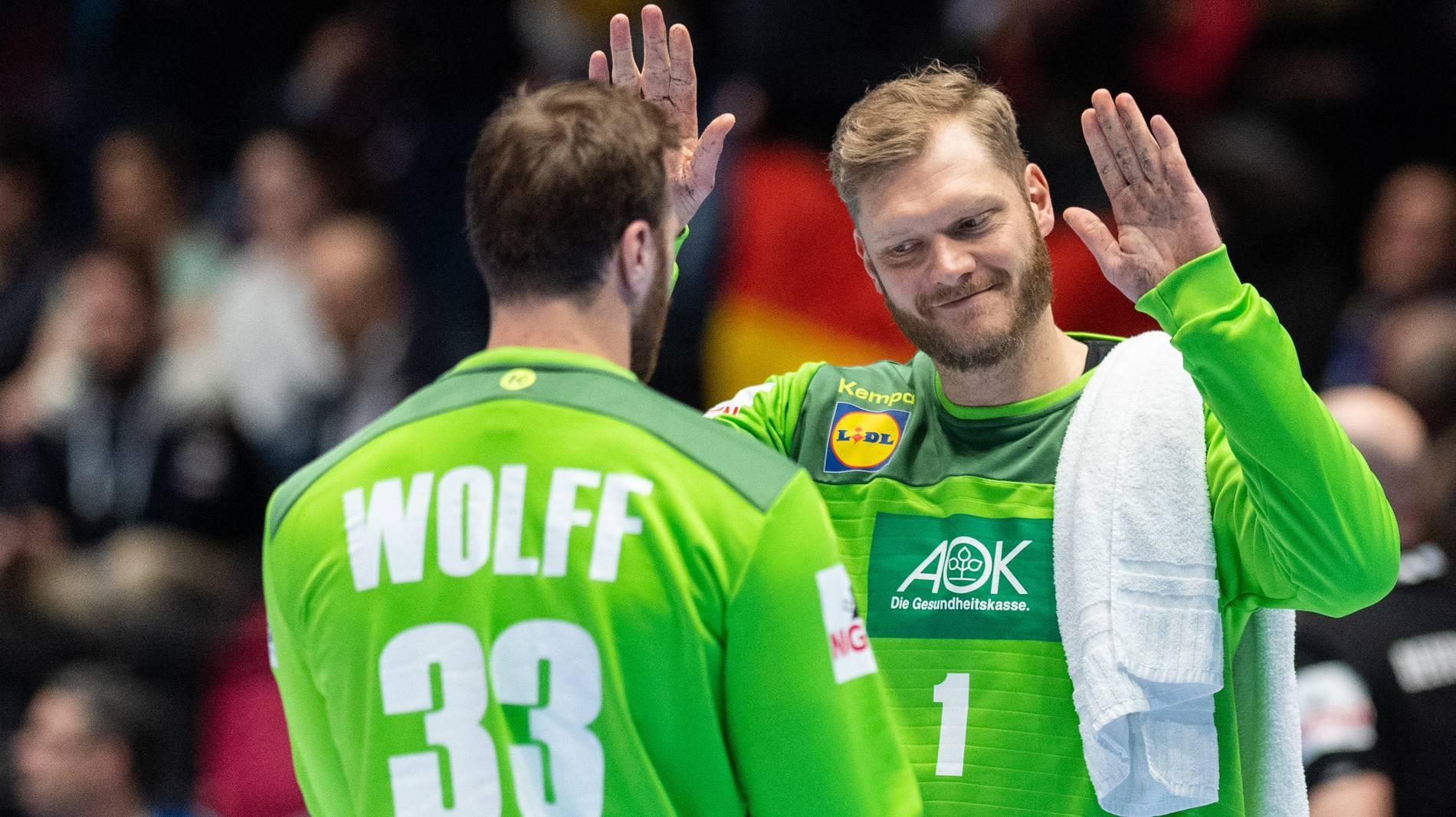 Handball Em 2020 Torhuter Krise Bei Deutschen Handballern