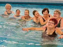 Aquafitness in Grevenbroich: Viel Spaß beim Training gegen den Wasserwiderstand