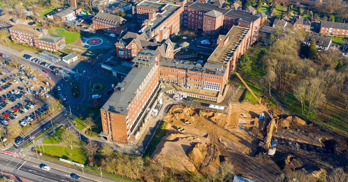Krankenhaus Bethanien in Moers investiert in neues Bettenhaus