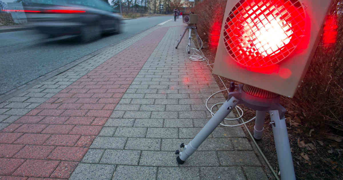 Stadt Moers kauft neues Blitzgerät