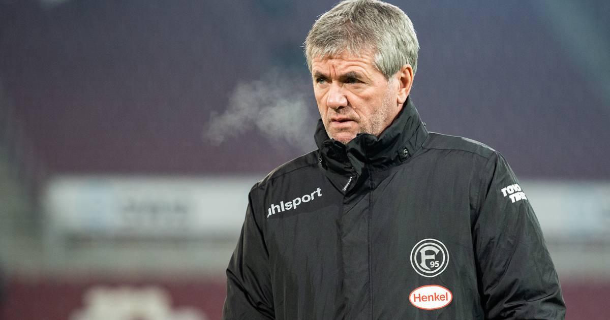 Fortuna Düsseldorf: Trainer Friedhelm Funkel steht in der Kritik
