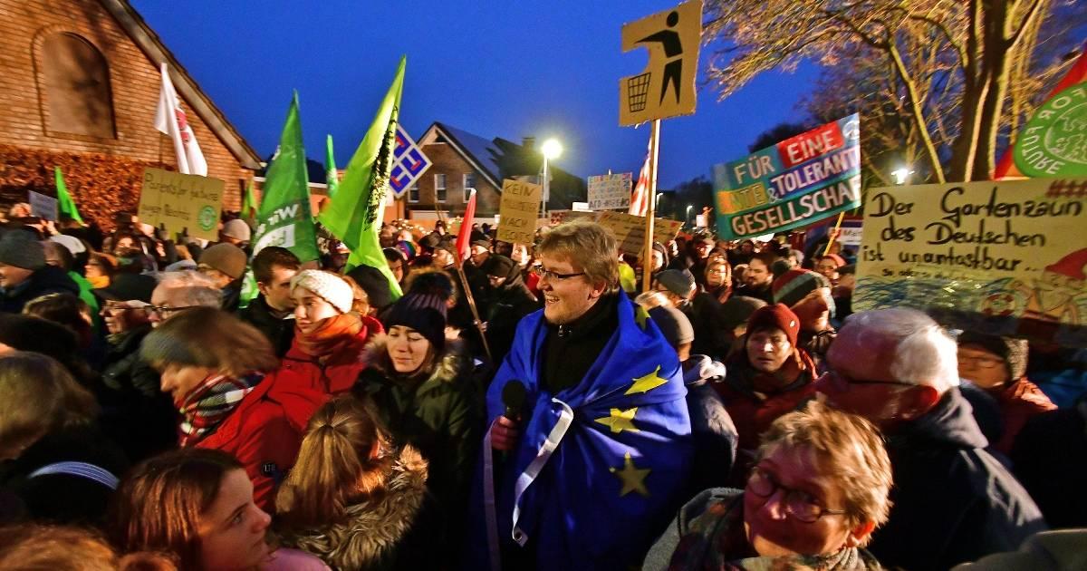 Grefrath: Demo gegen Neujahrsempfang der AfD verlief friedlich