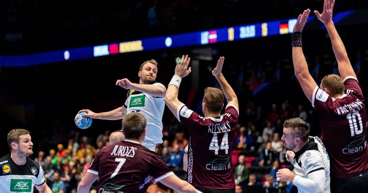 Aldekerker Junge bei der Handball-EM im Rampenlicht