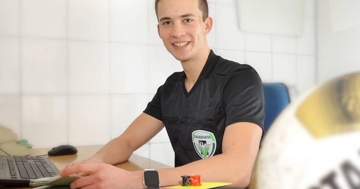 Fußball-Schiri Jan Peter Weßels ist bereit für höhere Aufgaben