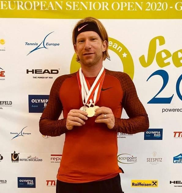 Tennis: Jens Janssen triumphiert bei der Tennis-EM Ü30
